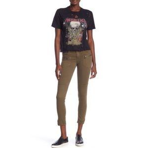 NWT BlankNYC Zipper Utility Skinny Leg Crop Pants